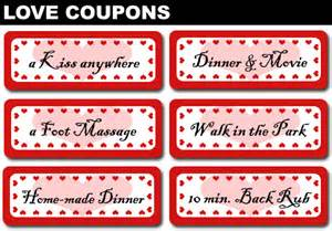 Love coupon ideas love coupon for her 1st anniversary gift ideas