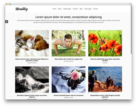bootstrap gallery template 25 best free themes built with bootstrap 2016