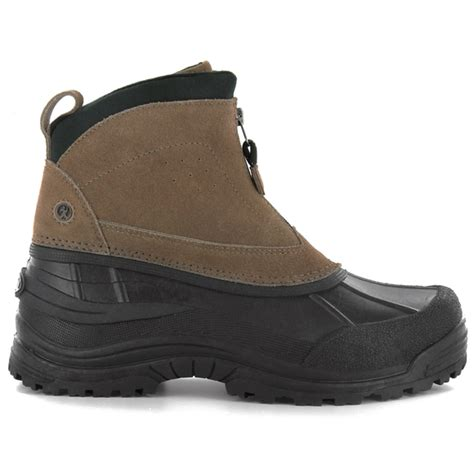 mens winter boots with zipper northside mens mt si zip front winter boots