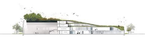 Plan 5 gallery of primary school amp sport hall chartier dalix