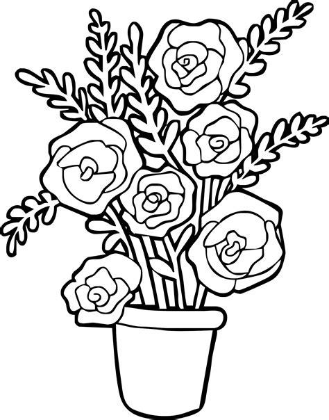 vasi di fiori da colorare vaso di disegni da colorare disegni da colorare e