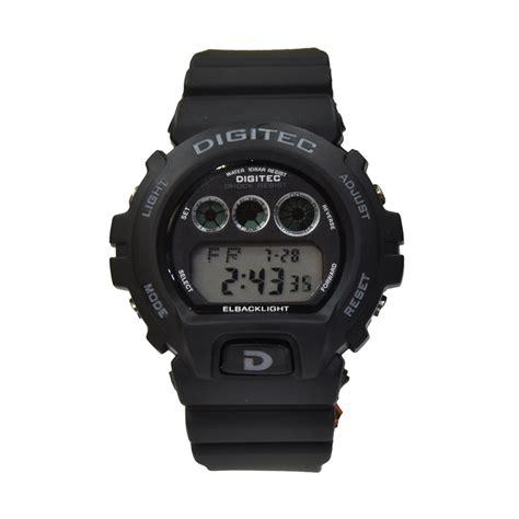 Jam Tangan Digitec Hitam jual digitec dg2098tblk jam tangan pria hitam