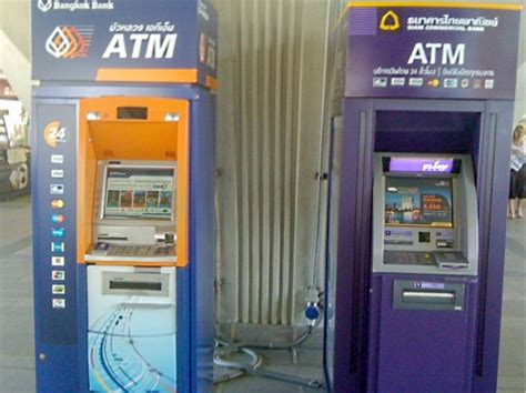 bangkok bank atm atm bangkok bank and scb thailand business news