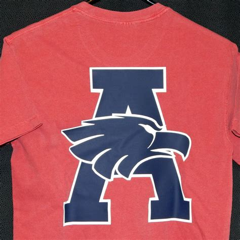 Comfort Eagle Vinyl by 2015 Block A With Eagle Comfort Colors Pocket T Shirt