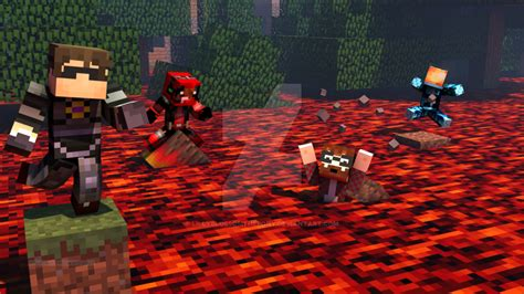 lava l floor l minecraft the floor is lava by lillyblossomthepony on