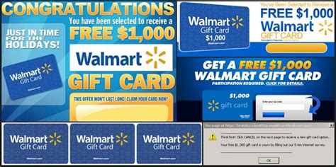 Where Can I Get Walmart Gift Cards - scam 1000 walmart gift card winner pop up updated