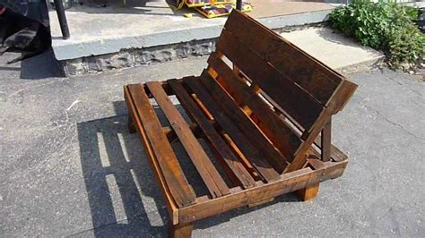 How To Make A Pallet With A Back by Pallet Chair
