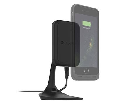 mophie charge desk mount 新製品ニュース ワイヤレス充電対応のiphone用バッテリーケース mophie juice pack