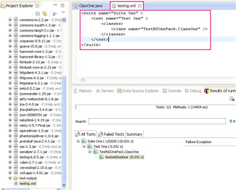 xml testing tutorial creating and running webdriver test suit using testng xml file