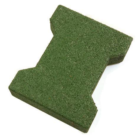 Dog Bone Outdoor Patio Tiles green dog bone.