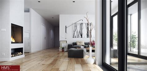 nordic home design hoang minh nordic style living with wooden floors and