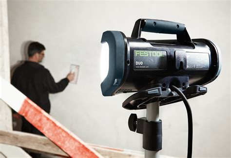 contractor lighting supply reviews festool syslite duo work light contractor supply magazine
