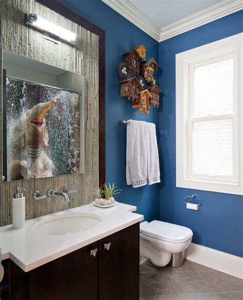 Shower Curtain Ideas For Small Bathrooms Magnificent Elephant Wallpaper Trend Chicago Transitional