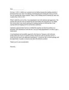 Complaint Letter For A Poor Service Bad Customer Service Complaint Letter
