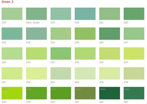 green color chart green color chart green color chart color mixing