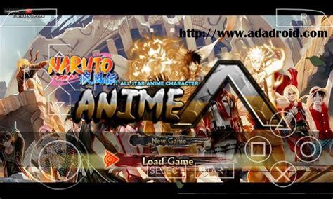naruto nsuni mod  star anime psp android gapmod