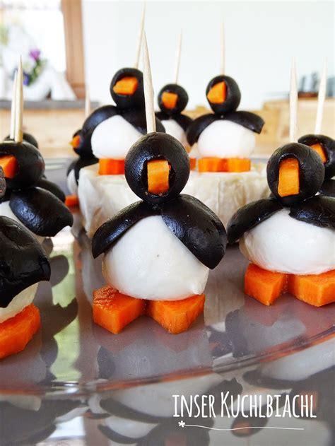 mozzarella oliven pinguine suedtirol kocht rezepte aus