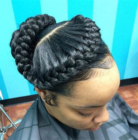 one goddess braid cebter of head 55 of the most stunning styles of the goddess braid