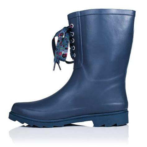 blue wide calf boots flat festival wellies wide calf calf boots blue