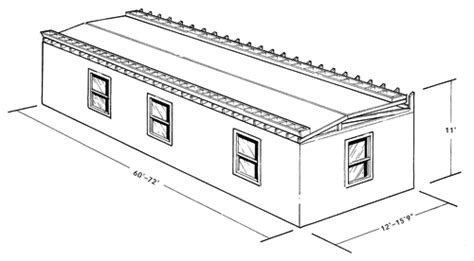 sizes of mobile homes modular size and design constraints length width height