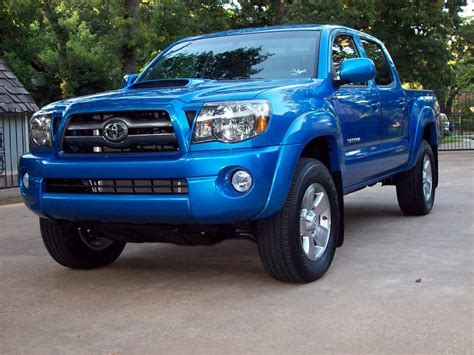 toyota tacoma trd sport blue