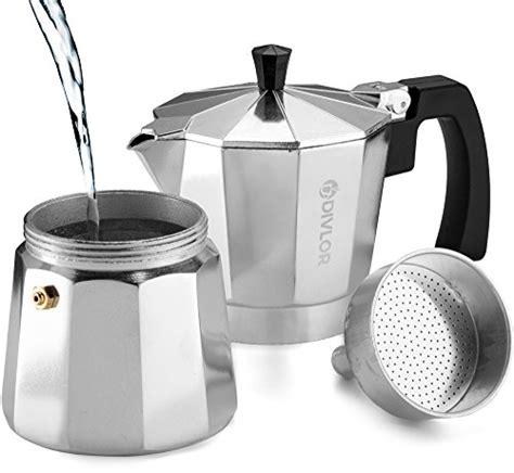 Diskon Akebonno Moka Pot Coffee Maker For 4 Cups Terlaris stovetop espresso maker moka pot aluminum espresso