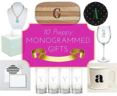 mg gift guide 10 preppy monogrammed gifts midtown girl