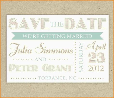 Save The Date Template Word Authorization Letter Pdf Save The Date Templates Free For Word