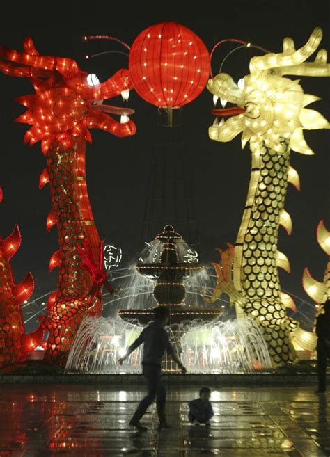 chinese  year  pictures  dragon decorations  china