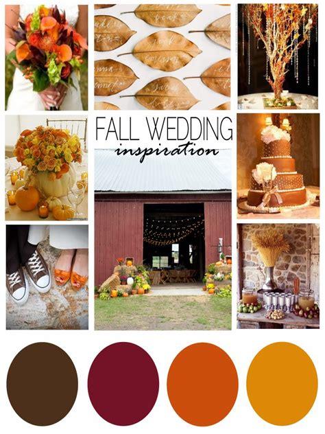 fall color schemes cupcakes corgis fall wedding inspiration
