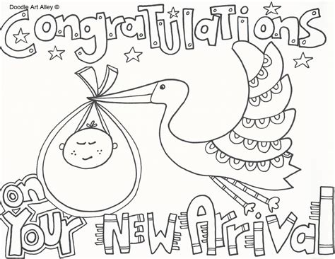 coloring pages new baby baby coloring pages doodle art alley