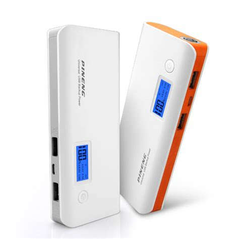 Power Bank Pineng 10000 pineng pn 968 10000mah power bank white grey