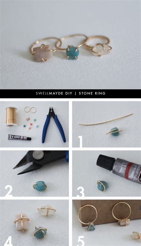 ring diy diy ring projects for pretty designs
