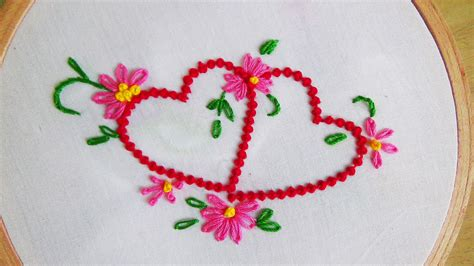 embroidery design making hand embroidery bead stitch moti tanka my crafts and