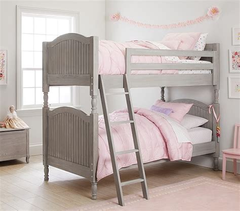 catalina bed pottery barn catalina twin over twin bunk bed pottery barn kids