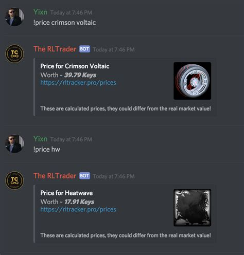Discord Giveaway Bot Commands - price and statistics discord bot rltracker pro