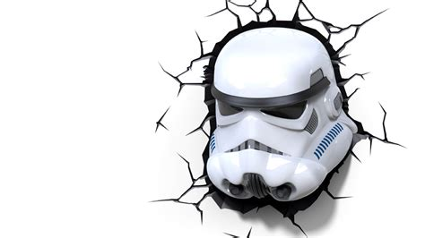 Topeng Wars Strom Troopers With Light stormtrooper 3dlightfx