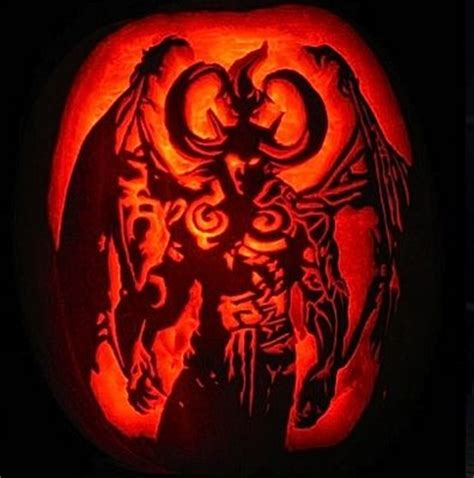 creative video game inspired pumpkin carvings