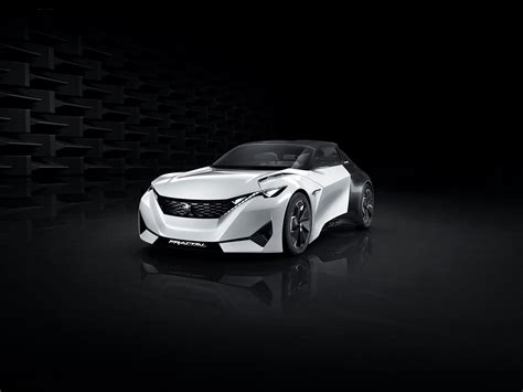 peugeot fractal peugeot fractal concept an angry looking urban coupe by