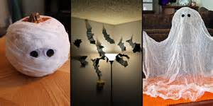 Scary Halloween Decorations To Make Yourself 22 Super Easy Halloween Decorations And Crafts You Can