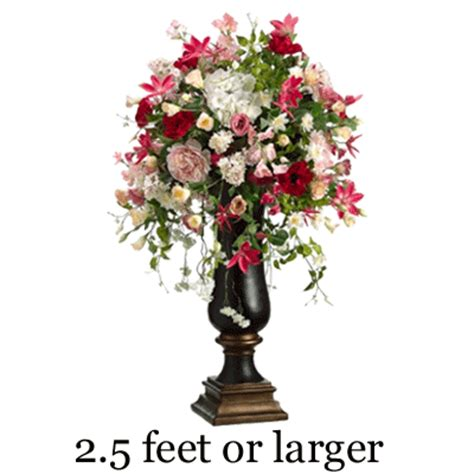 Artificial Topiary Trees Cheap - large tall amp extra tall flower arrangements