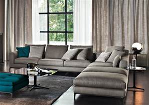 Living Room Grey Teal Wish List Minotti Sofa Element75 Just Me On The Internets
