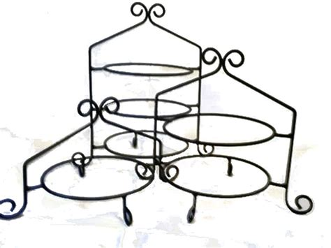 Pie Holder Racks by Wrought Iron Cupcake Display Racks And Pie Stands Great
