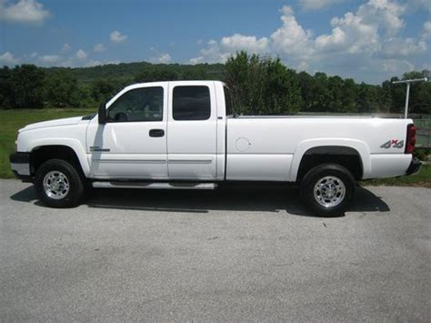 chevy silverado truck bed for sale find used 2007 chevy diesel 35k miles 2500hd 8 ft plow 4 x