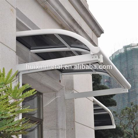 rain awnings fixed system aluminium windows rain awning canopy for sale