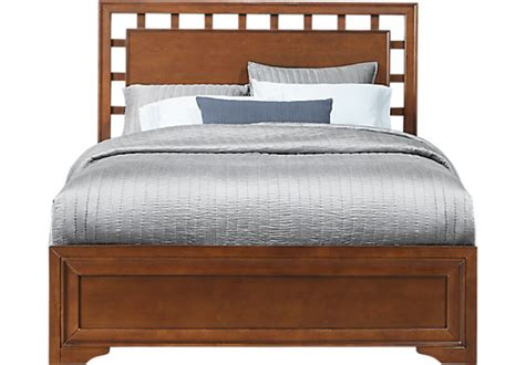 cherry king size bed frame cherry king beds shop cherry king size bed frames