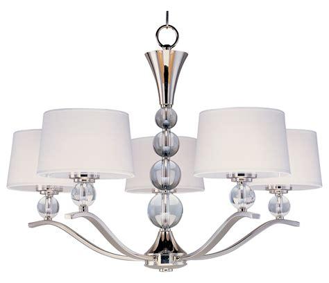 maxim chandelier maxim five light polished nickel up chandelier polished