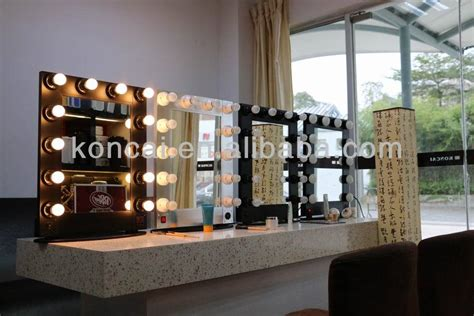makeup mirror stand with lights professional makeup mirror with led lights