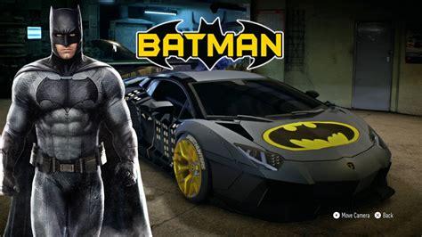 batman car lamborghini need for speed 2015 quot lamborghini quot best car to