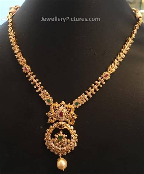 light weight gold necklace designs pics for gt beautiful necklace designs